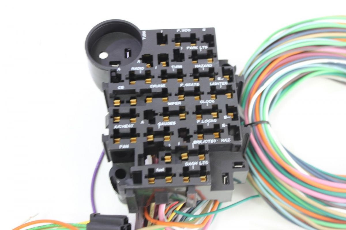 Hot Rod Wiring Harness 22 Circuit Complete A