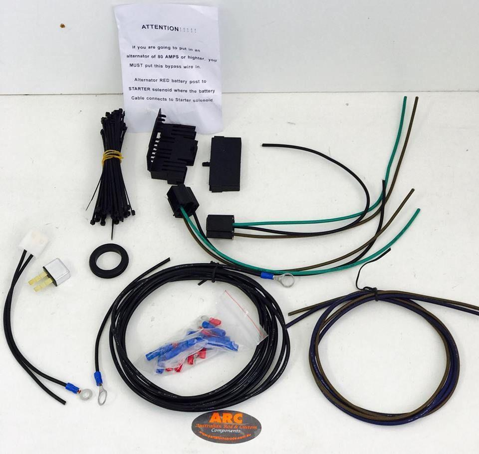 Eazy Wiring 21 Circuit Harness Kit Gets Hot Mopar Suit Rod Ford Gm