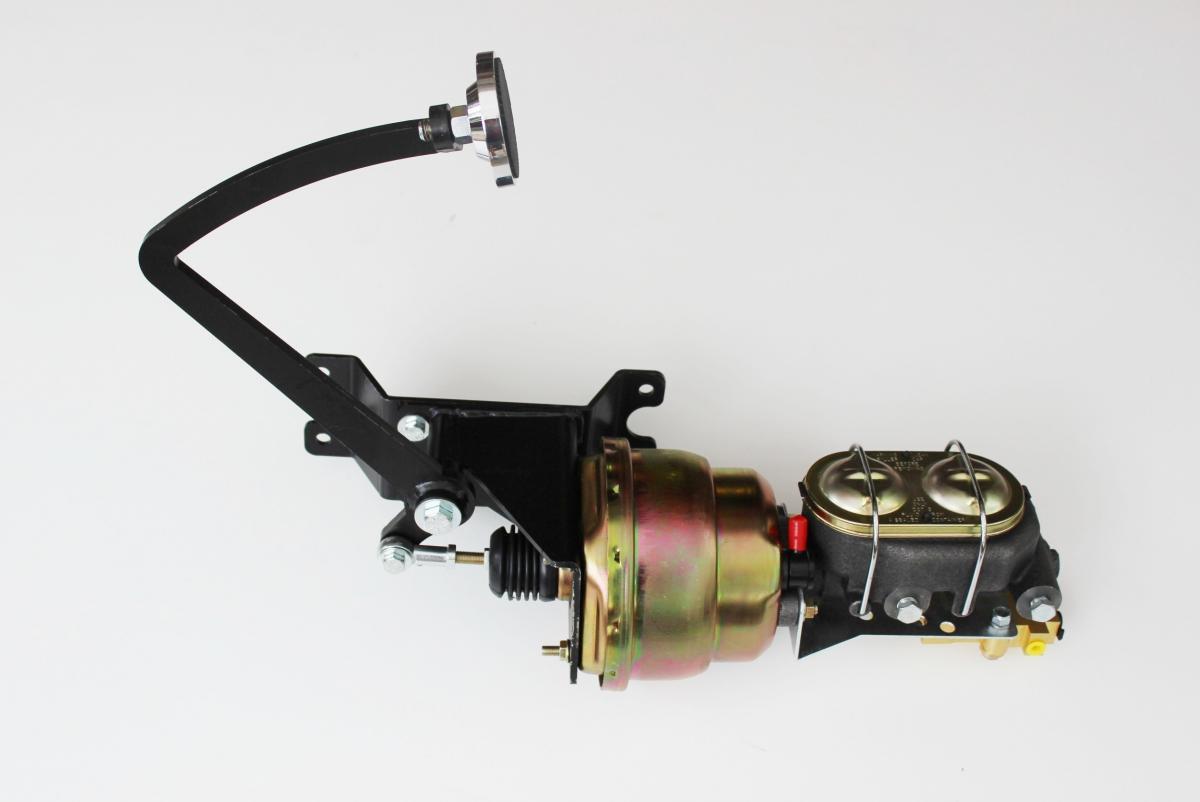 "Universal Under Floor Brake Pedal /& 1/"" Bore Master Cylinder Drum// Drum Redisual"