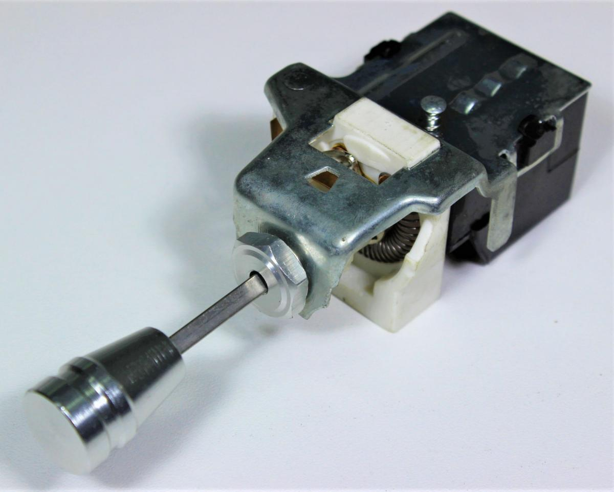 Hot Rod Headlight Switch With Interior Dimmer Function