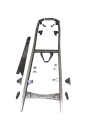 1928-31 FORD MODEL A CHASSIS RAIL KIT + BOXING PLATES + FRONT X MEMBER