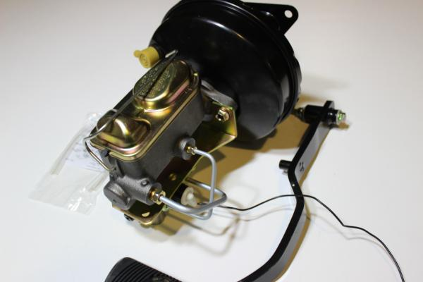 """9"""" PLAIN SINGLE BOOSTER AND MASTER CYLINDER CONVERSION SUIT 67-70 MUSTANG"""