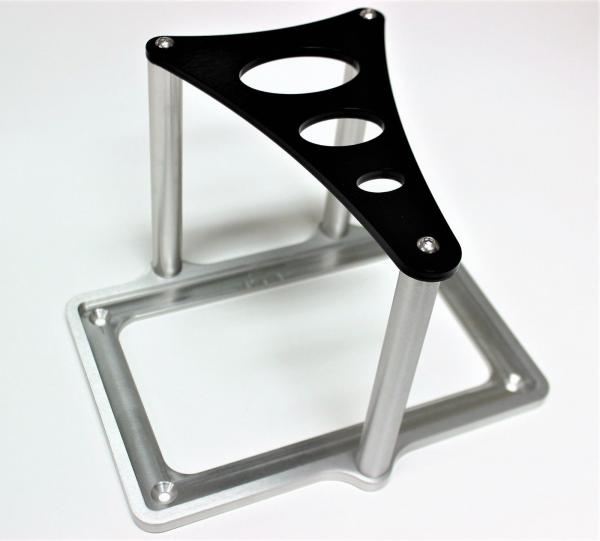 Power Master Alloy Battery Tray With Back Top