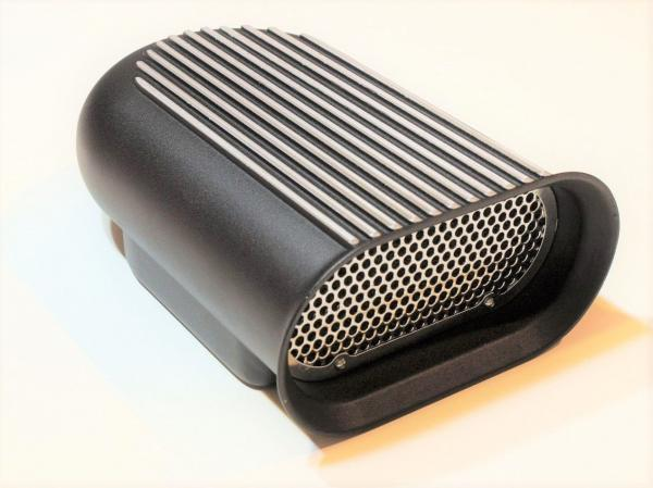 HILBORN STYLE AIR SCOOP BLACK BALL MILLED AND FILTER