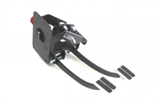 UNDER DASH 90 DEGREE BRAKE AND CLUTCH PEDAL ASSEMBLY