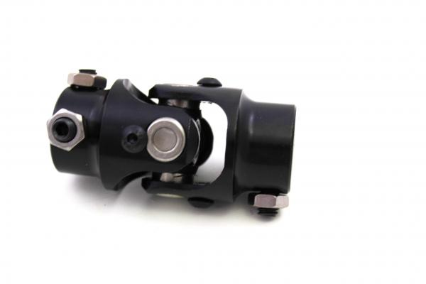 """STEERING UNIVERSAL JOINT 3/4""""DD TO 3/4""""DD BLACK ENGINEER APPROVED"""