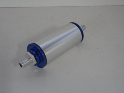 BILLET FUEL FILTER HIGH VOLUME WITH AN 6 FITTINGS
