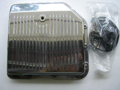 TURBO 350 POLISHED ALLOY TRANSMISSION PAN