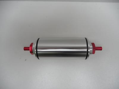 BILLET FUEL FILTER HIGH VOLUME WITH PUSH ON FITTINGS