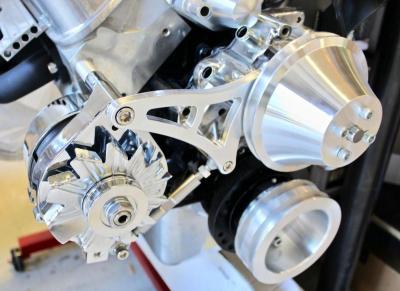 FORD WINDSOR 351 BILLET ALTERNATOR BRACKET 69-LATER ENGINES