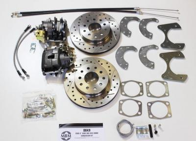 Ford 9 Inch Rear Disc Brake Conversion Kit