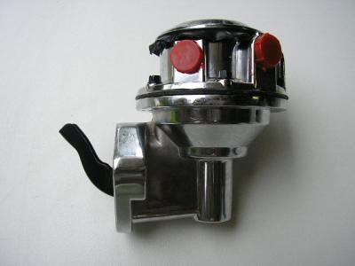 CHEV SMALL BLOCK CHROME FUEL PUMP SERVISEABLE