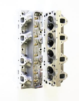 BIG BLOCK FORD FE ALUMINIUM HEADS BARE 320 CC INTAKE RUNNERS -390,427,428 ENGINES