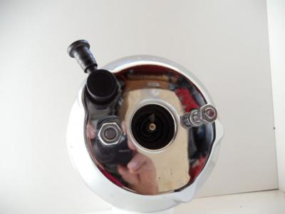 7 INCH SINGLE DIAPHRAGM BOOSTER CHROME HOT ROD, FORD, CHEV