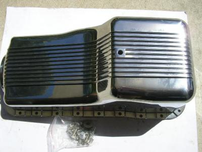 SMALL BLOCK WINDSOR 289 302 SUMP POLISHED FINNED ALLOY