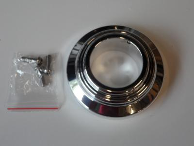 STEERING COLUMN LOWER FLOOR SWIVEL MOUNT SUIT 2 INCH COLUMN POLISHED BILLET