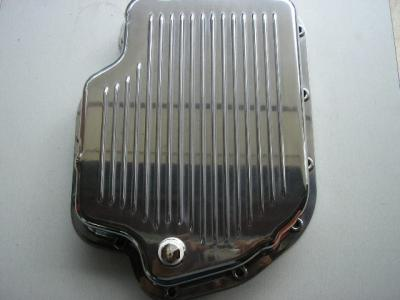 TURBO 400 POLISHED ALLOY TRANSMISSION PAN