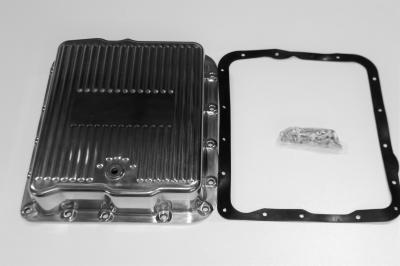 TURBO 700 POLISHED ALLOY TRANSMISSION PAN