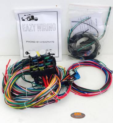 Eazy Wiring 12 Circuit Harness Kit - suit Hot Rod, Ford, GM, Mopar