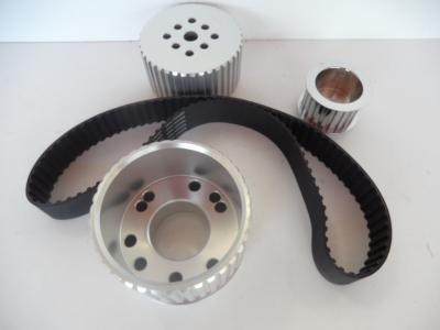 BILLET GILMER PULLEY KIT SMALL BLOCK FORD CLEVELAND 302 351