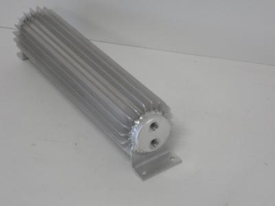 12 INCH TRANSMISSION COOLERS DUAL PASS 1/4 NPT FITTINGS