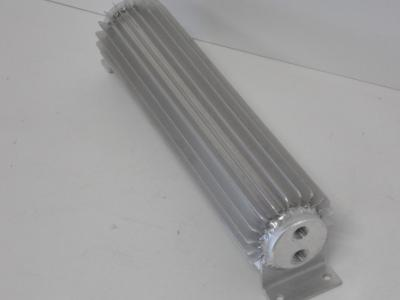 18 INCH TRANSMISSION COOLERS DUAL PASS 1/4 NPT FITTINGS