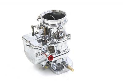 FORD SIDE VALVE CHROME 97 2 BARREL 9 SUPER 7 PRIMARY CARBURETOR