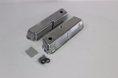 FORD WINDSOR 289 302 351 POLISHED SMOOTH ROCKER COVER