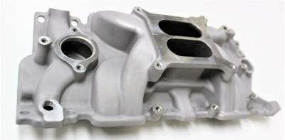 SMALL BLOCK CHEV INTAKE MANIFOLD 283 327 350 SATIN