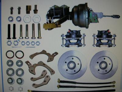 1965 TO 1968 CHEV FRONT DISC BRAKE CONVERSION