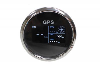 "3 3/8"" ELECTRONIC PROGRAMMABLE GPS SPEEDO WITH DIGITAL LCD DISPLAY"