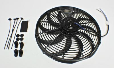 "UNIVERSAL 16"" ELECTRIC THERMO FAN REVERSIBLE"