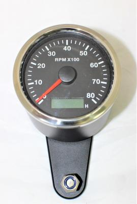 BLACK BILLET GAUGE HOLDER WITH TACHO