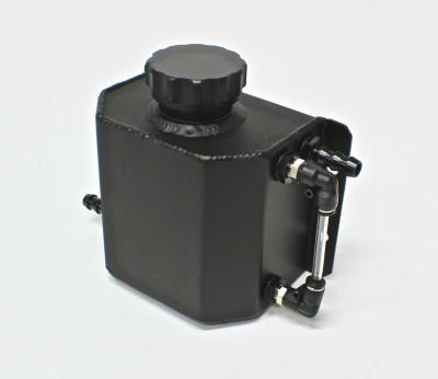 BLACK FABRICATED ALUMINIUM OIL CATCH TANK