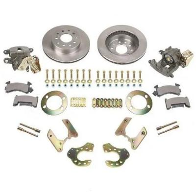 FORD 9 INCH DISC BRAKE KIT W/ VENTED ROTORS & E-BRAKE CALIPER