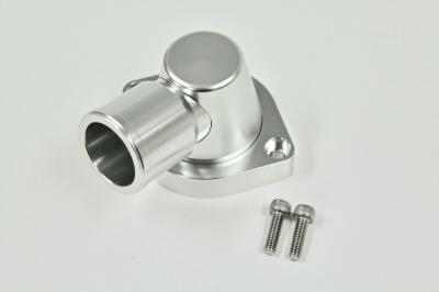 GM LS1 LS2 90 DEGREE SWIVEL THERMOSTAT HOUSING BILLET SILVER